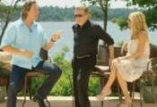 John Corbett with Kelly and regis in PEI