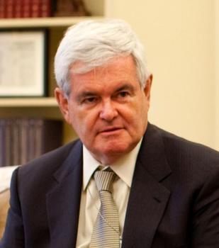 Newt Gingrich, source wikimedia