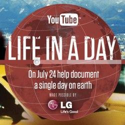 """YouTube's """"Life in a Day"""" is their largest online video event to date"""
